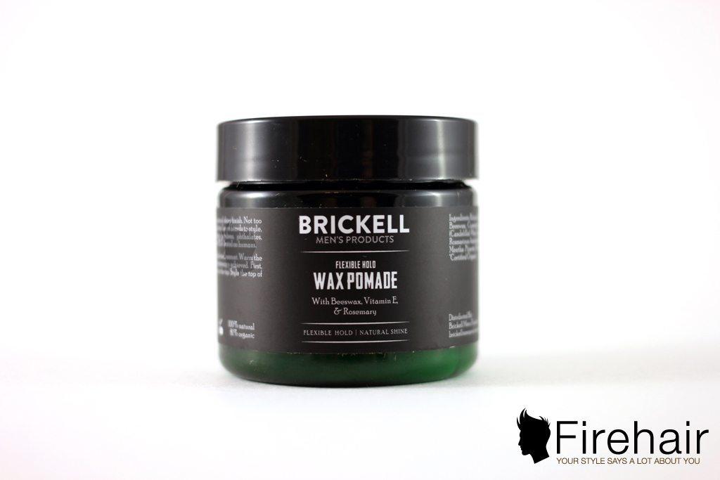 Обзор помады для волос Brickell Flexible Hold
